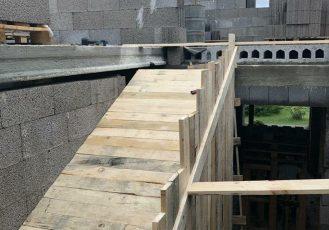 Монолитные работы лестница